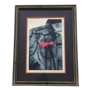 """Vintage Original Litho Print """"Southern Comfort"""" J.Morris For Sale"""