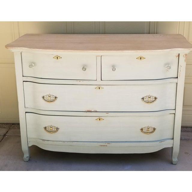 Vaisselier Shabby Chic: Shabby Chic Oak Antique Dresser