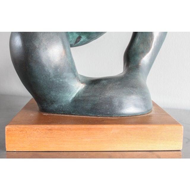 "Black Austin Productions ""Portrait of a Woman"" Sculpture by Klara Sever 1979 For Sale - Image 8 of 13"