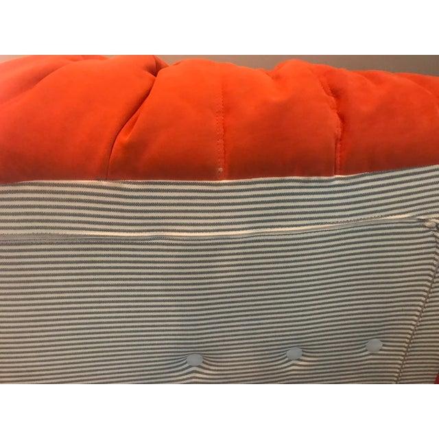 Michel Ducaroy for Ligne Roset Orange Togo Sofas - Set of 3 - Image 5 of 11
