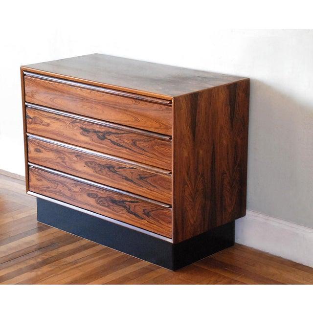 Mid-Century Modern Brazilian Rosewood Dresser - Image 5 of 8