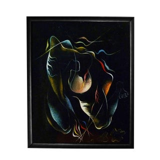 """""""The Prayer"""" Perspective Oil Painting by Gilberto Isais For Sale"""