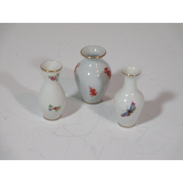 Traditional Herend Vases and Catchalls - 5 Piece Set For Sale - Image 3 of 7