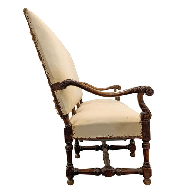 Louis XIV Settee For Sale - Image 4 of 11