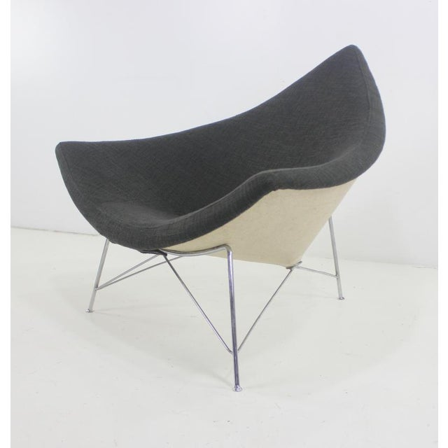 1950s Early Edition Coconut Chair & Ottoman by George Nelson for Herman Miller For Sale - Image 5 of 6