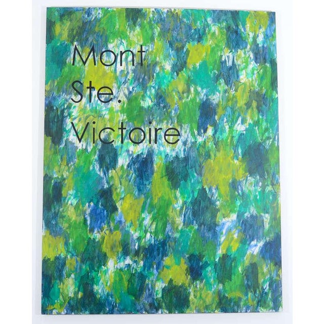 """Series of interpretive paintings inspired by Master Works. """"Mont Ste. Victoire"""" [Cézanne]."""