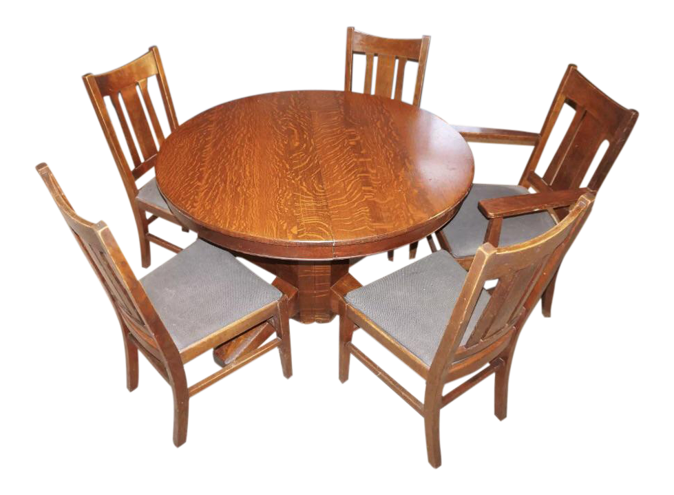 Stickley Mission Oak Dining Set