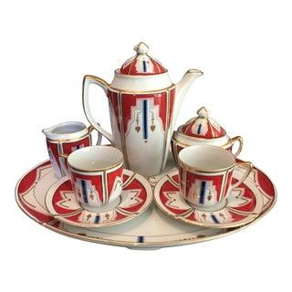 Tiffany Art Deco Tea Set