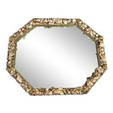 Image of Modern Shell Wall Mirror For Sale