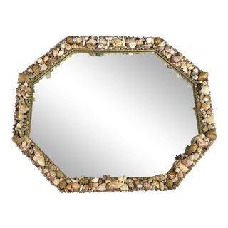 Modern Shell Wall Mirror For Sale