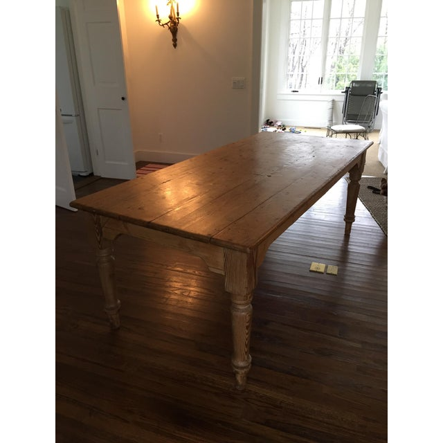 Antique French Harvest Table - Image 3 of 5
