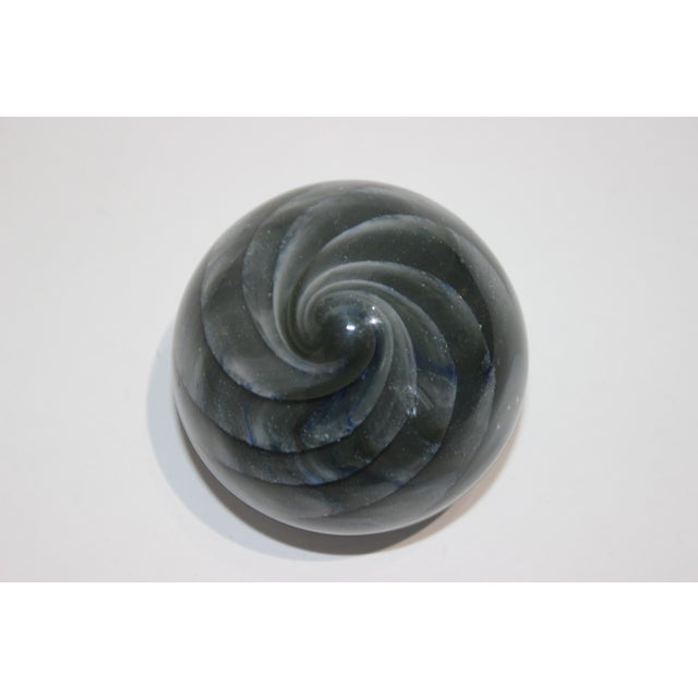 Glass Mid-Century Modern Paper Weight by Tennesee's Irving J Slotchiver For Sale - Image 7 of 12