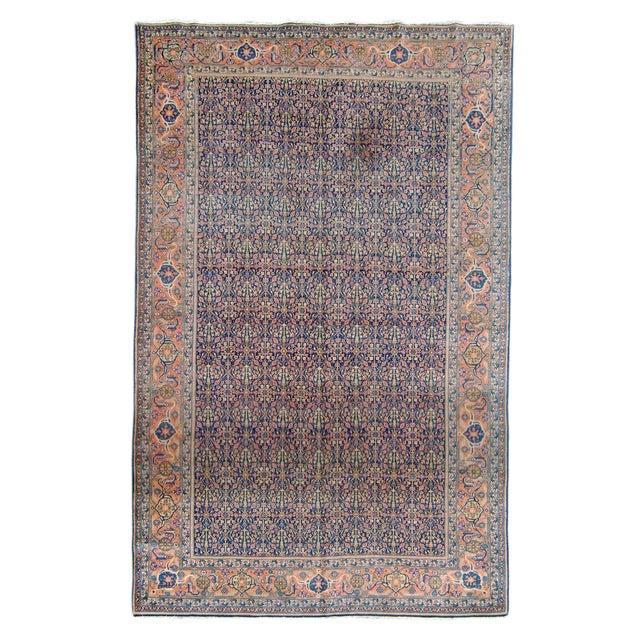 Tabriz Persian Rug - 7′4″ × 11′5″ For Sale
