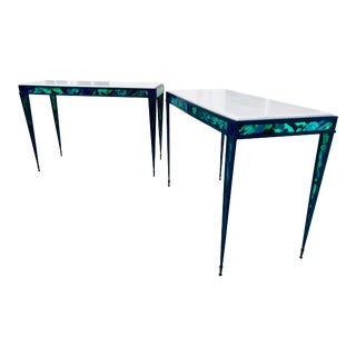 Contemporary Console Tables - a Pair For Sale