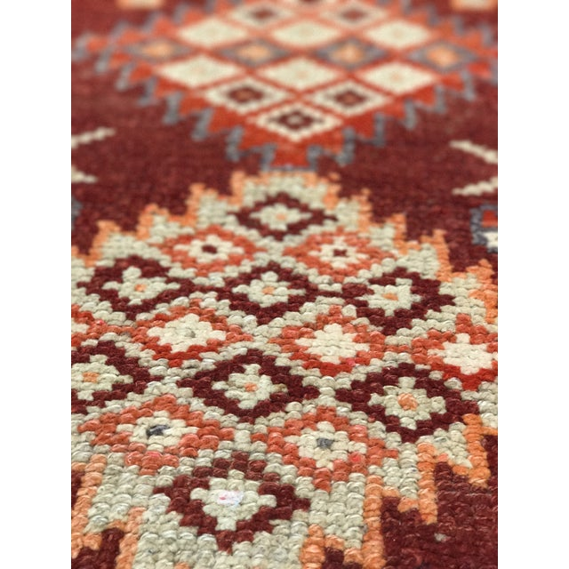 "Bellwether Rugs Vintage Turkish Oushak Runner - 2'9"" X 11'4"" - Image 4 of 11"