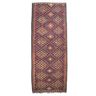 Antique Kurdish Kilim, Wide and Long For Sale