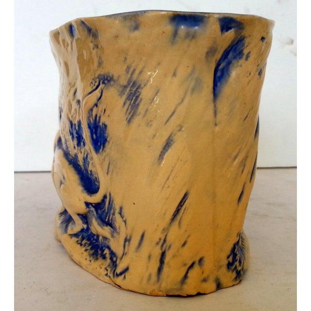 Mid-Century Stalking Lion Vase For Sale - Image 5 of 6