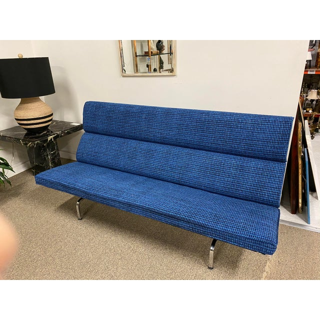 1950s Eames Mid-Century Sofa Compact For Sale - Image 5 of 5
