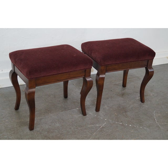 Fremarc Designs French Country Benches - Pair For Sale - Image 4 of 10