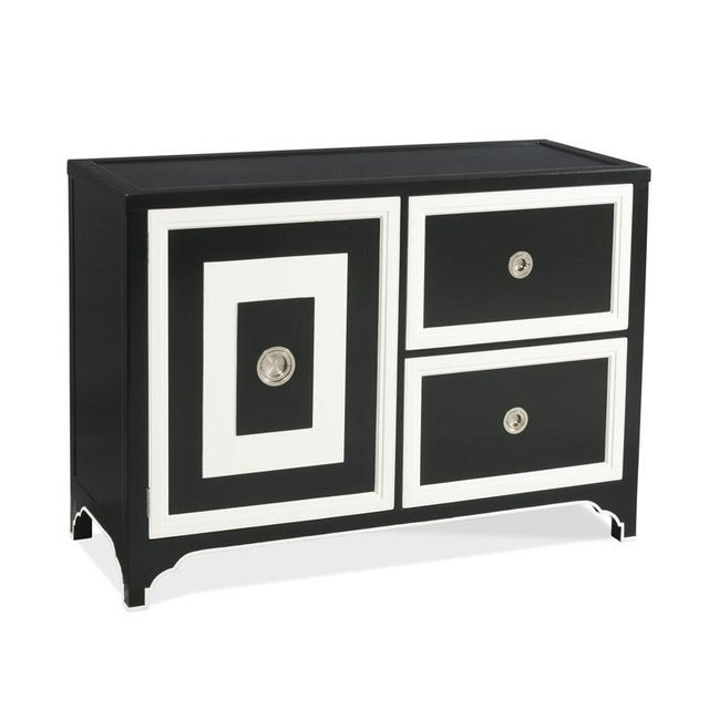 Traditional Modern Blair Bar Cabinet For Sale - Image 3 of 3