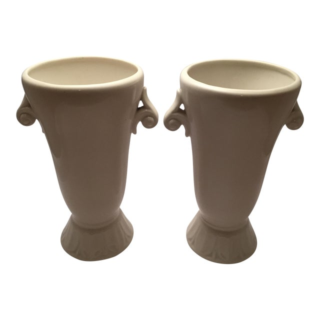 Abingdon Pottery Mid-Century Vases - a Pair For Sale