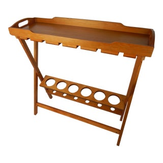 Japanese Bar With Removable Tray For Sale