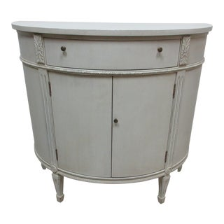 Gustavian Style Console Cabinet For Sale