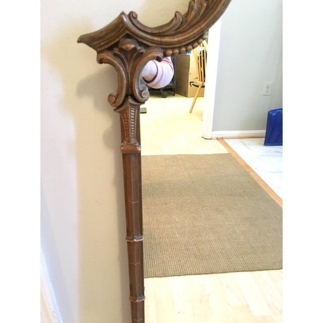 Vintage LaBarge Style Chinoiserie Chippendale Pagoda Bell Mirror For Sale In Washington DC - Image 6 of 11