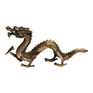 Gold Bronze Dragon For Sale