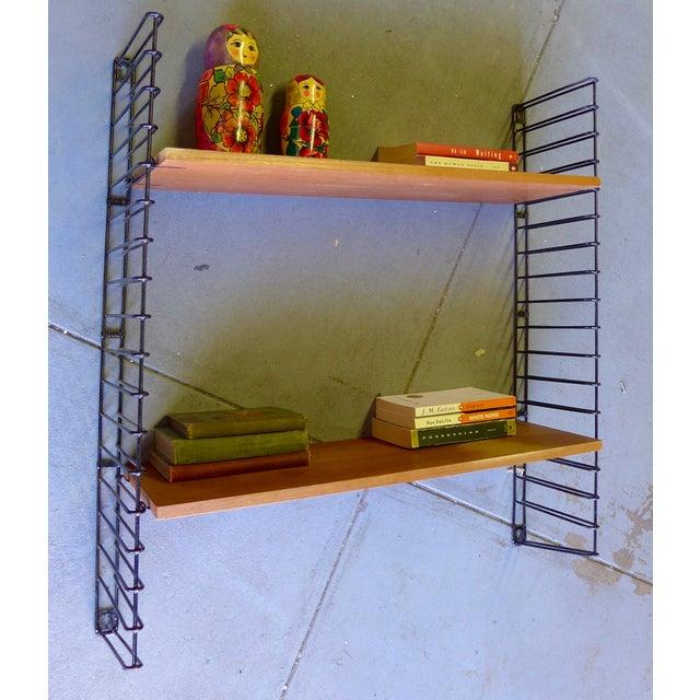 Mid-Century Modern String Shelving Unit - Image 5 of 6