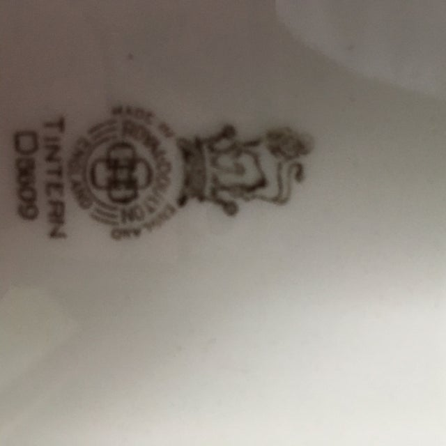 Traditional Royal Doulton Tintern Transferware Platter For Sale - Image 3 of 6