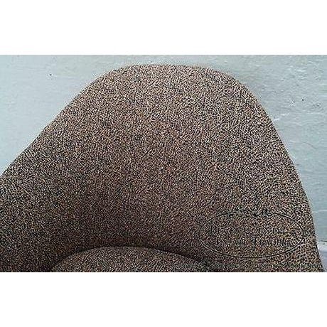 Thomasville Casa Bique Leopard Print Club Lounge Chair For Sale - Image 11 of 13