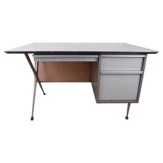 Vintage Industrial Desk by Raymond Loewy For Sale