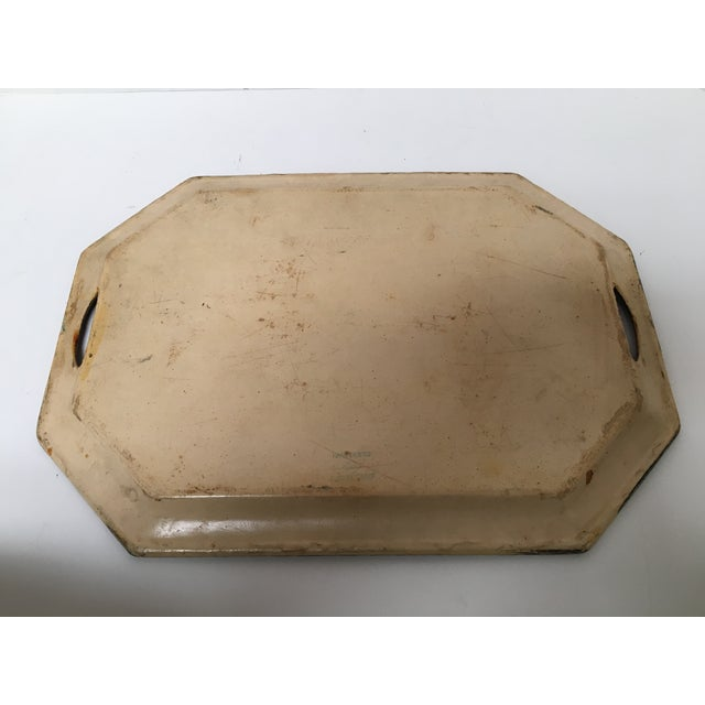 Vintage Paper Mache Rooster Motif Tray - Image 6 of 7