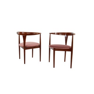 Peter Hvidt Armchairs With Original Soborg Mobiler Label - A Pair For Sale