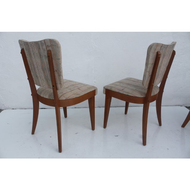 Heywood-Wakefield Dog Bone Chairs - Set of 6 For Sale In Miami - Image 6 of 11