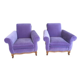 French Club Chairs - a Pair