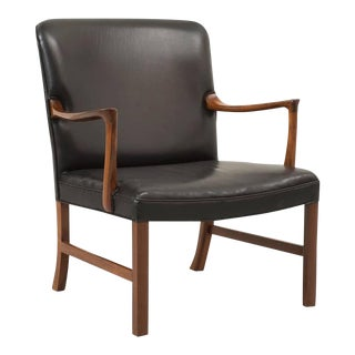 Ole Wanscher Rosewood Armchair for A. J. Iversen, Denmark, 1960s For Sale