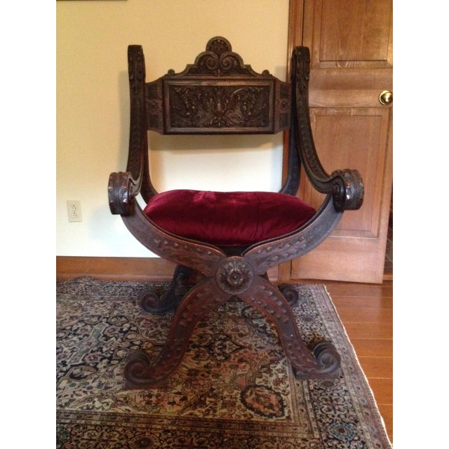 Renaissance Aesthetic Movement Throne Chair - Image 2 of 7