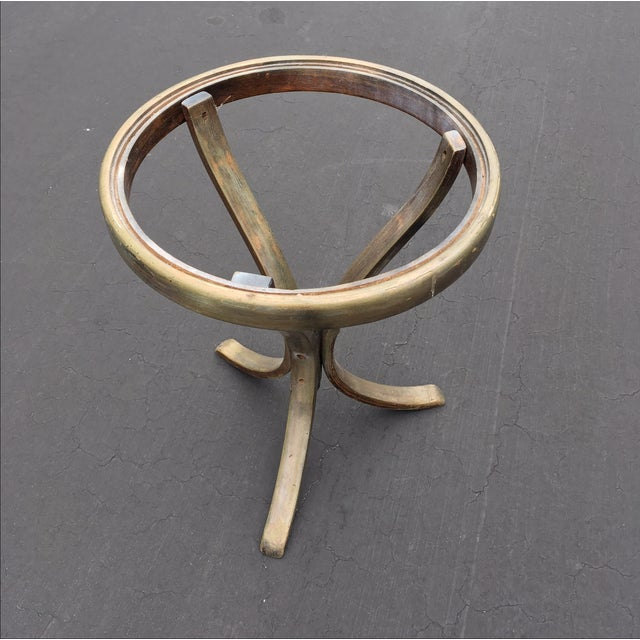 Early Americana Thonet Accent Table - Image 5 of 6