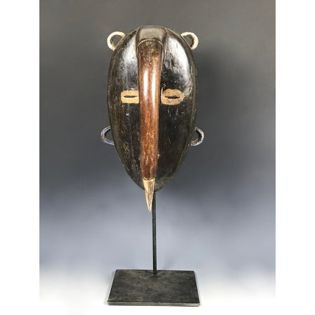African Tribal Art Kulango Mask From Ivory Coast For Sale - Image 11 of 11