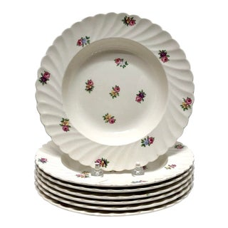 Royal Staffordshire Soup Bowls - Set of 7 For Sale