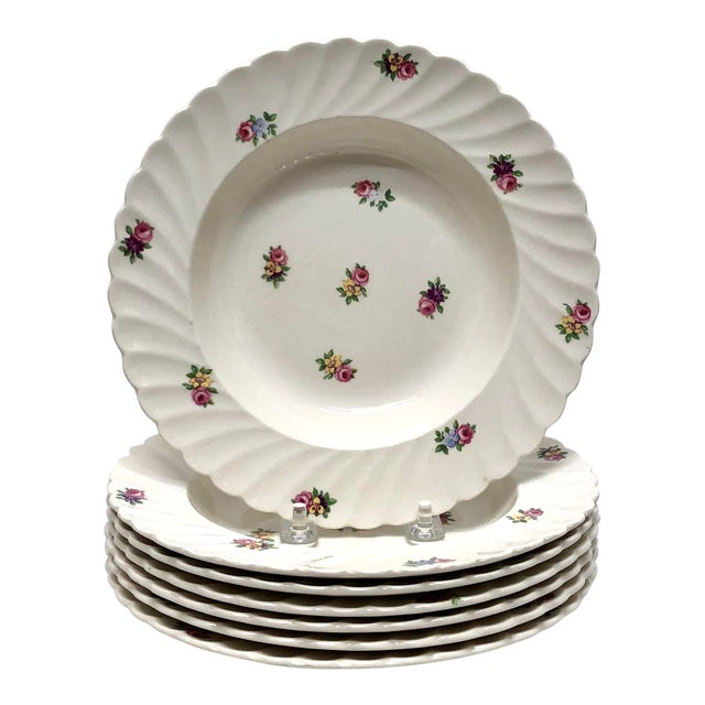 Royal Staffordshire Style Soup Bowls - Set of 7 For Sale