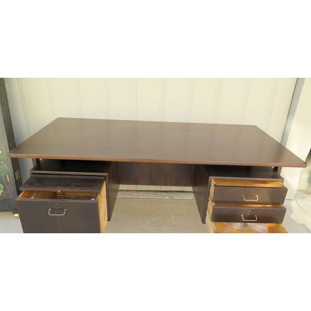 Danish Floating Top Executive Desk For Sale In Los Angeles - Image 6 of 6