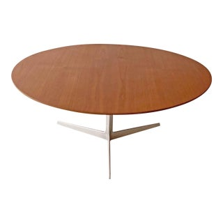 Arne Jacobsen for Fritz Hansen Teak Star Base Coffee Table For Sale