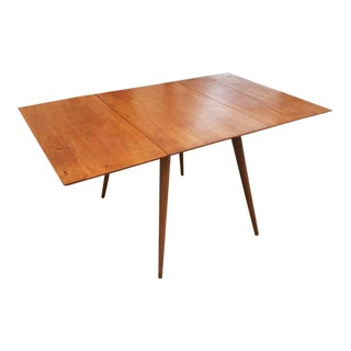 1950s Mid-Century Modern Paul McCobb Planner Group Drop-Leaf Dining Table