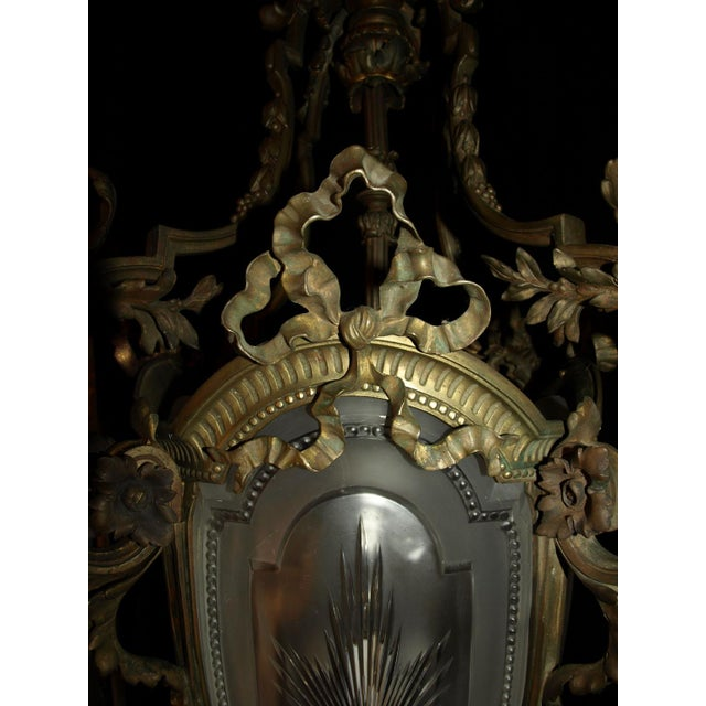 Antique Chandelier. French Lantern - Image 11 of 11