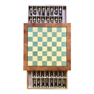 Italian Gentili Chess Set - 33 Pieces For Sale