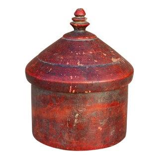 Parvik Antique Tikka Box For Sale