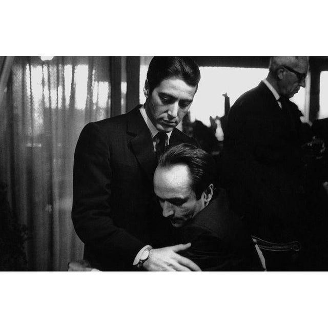 """The Godfather: Part II"" Al Pacino and John Cazale 1974 - Image 5 of 5"